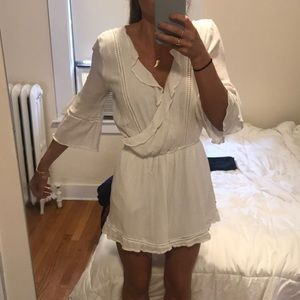 White Abercrombie and Fitch romper